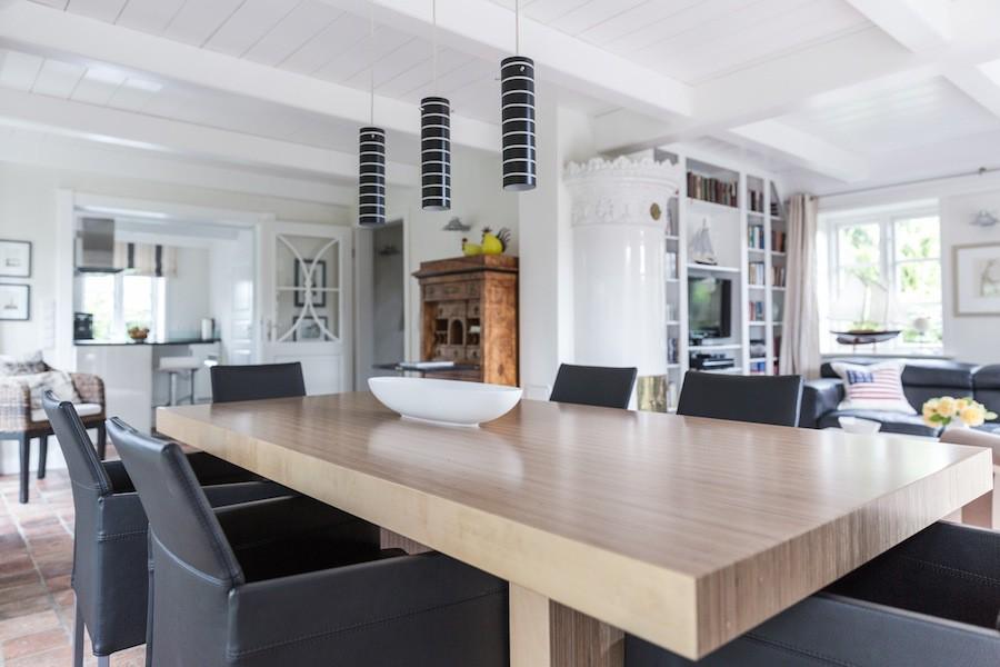 Exklusiver Wohn- und Essbereich Ferienhaus Auster Hüs